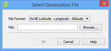 select Geolocation